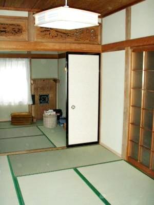 続き間の和室をリフォームしました。