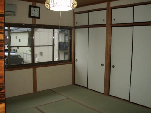 和室を化粧直ししました。