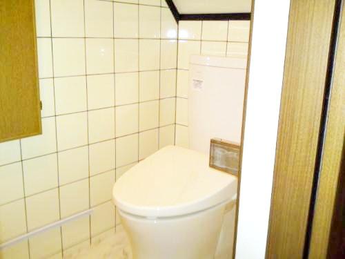 新しいトイレでお客様にもご満足いただけてます。