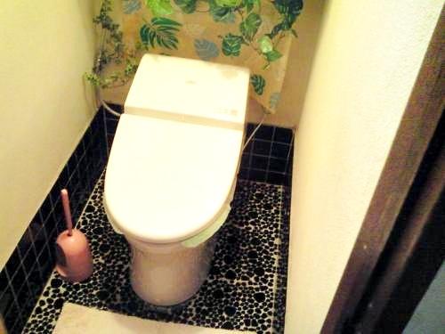 トイレを最新式のものにリフォームしました。