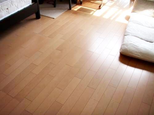 床だけのリフォームでも、お部屋の雰囲気が変わりました!