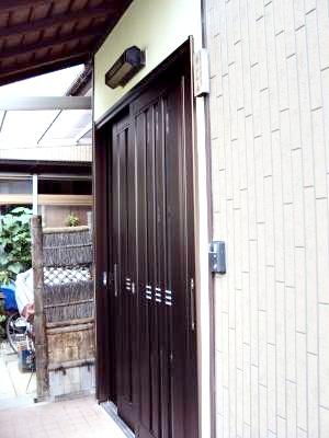 家の顔の玄関が立派になり、満足です。
