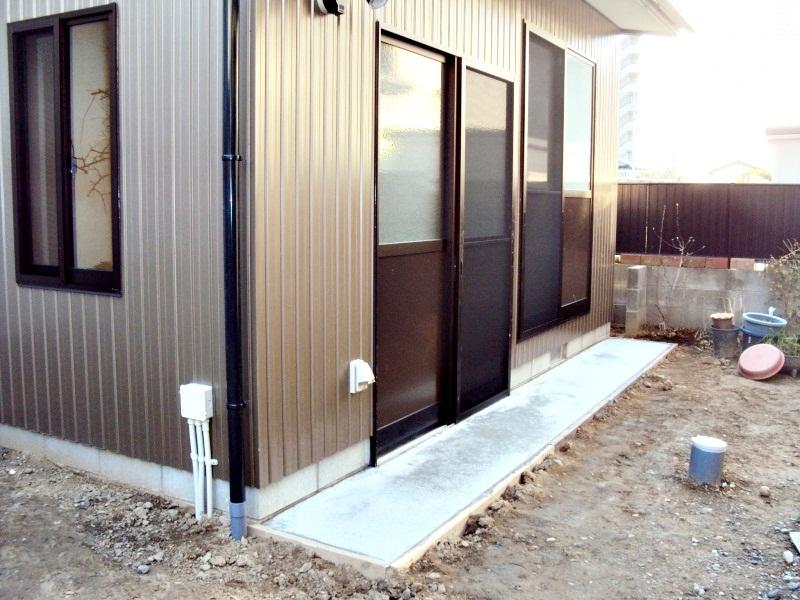 離れの新築と外構工事で庭の使い勝手が格段にアップ!