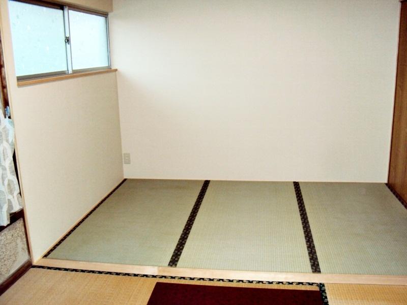 広くて明るい和室になりました。