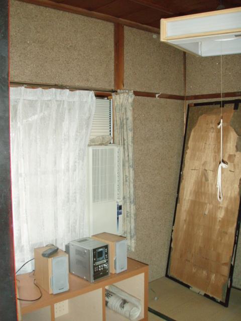 低予算で和室を事務所に。