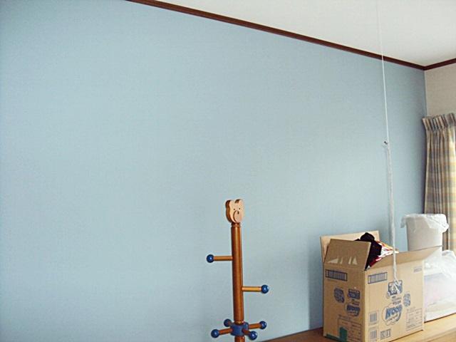 クローゼット改修と子供室の間仕切り壁を設置しました。