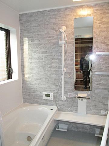 浴室・洗面所・キッチンの改修をしました。