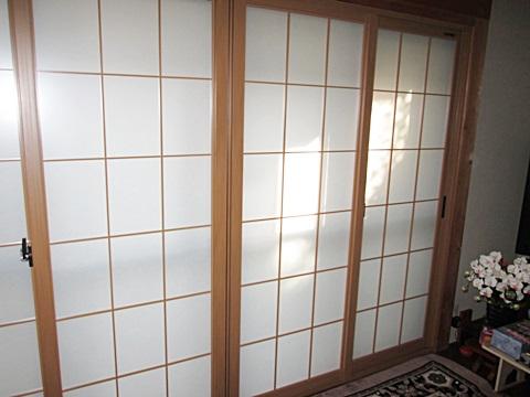 内窓を取り付けました。