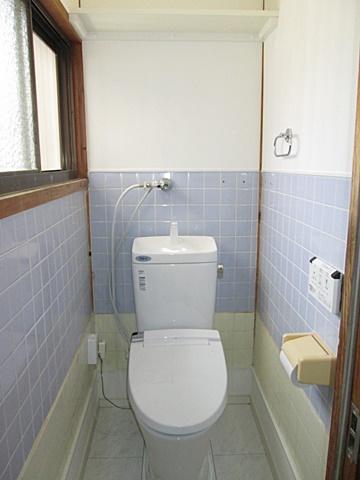 トイレのリフォームをしました。