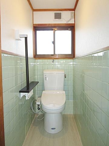 介護保険を使って和式の兼用トイレを洋式トイレにリフォームしました。