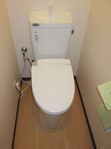 トイレをリフォームしました。