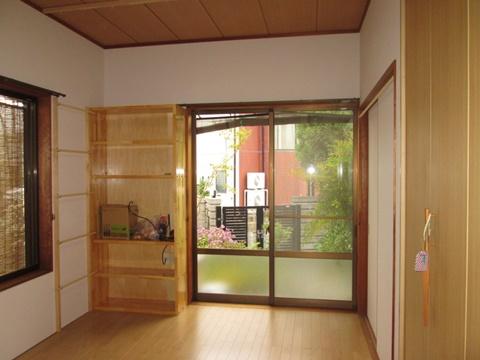 和室を洋室にリフォームしました。