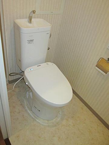 マンションのトイレをリフォームしました。
