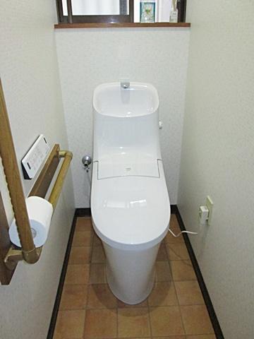 トイレ、浴室リフォームと洗面化粧台交換