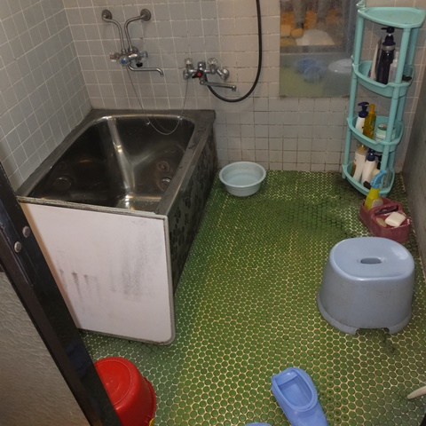 浴室をリフォームしました(介護補助金活用)