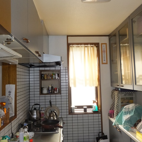 キッチンをリフォームしました。