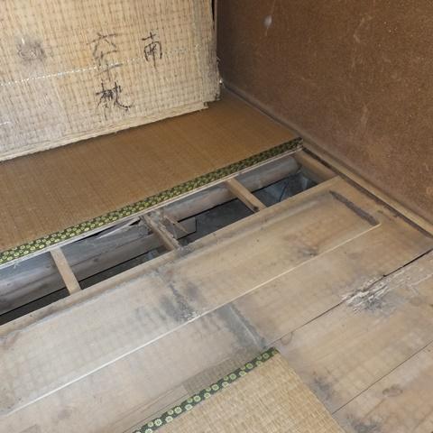 和室の床をリフォームしました