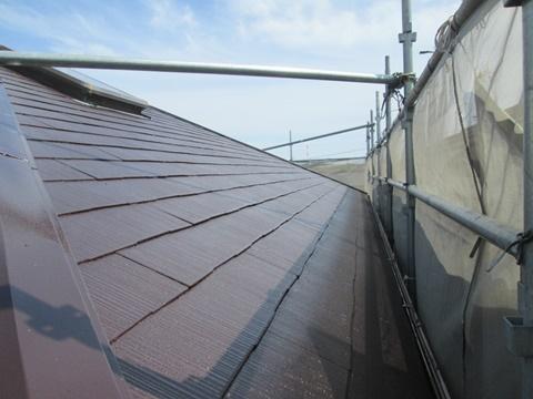 屋根と外壁の塗り替え、外構工事をしました