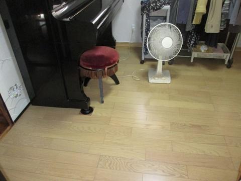 畳からフローリングに変更しました