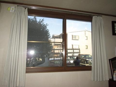 内窓を各所に取り付けました