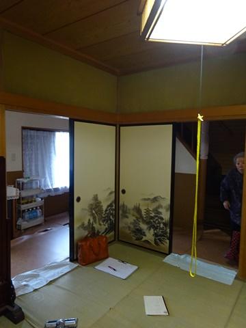 和室を洋室に変更しました