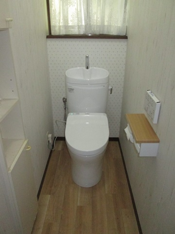 2階のトイレをリフォームしました