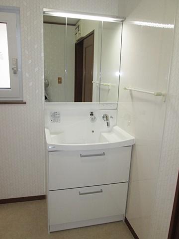 2階洗面所とトイレのリフォームをしました