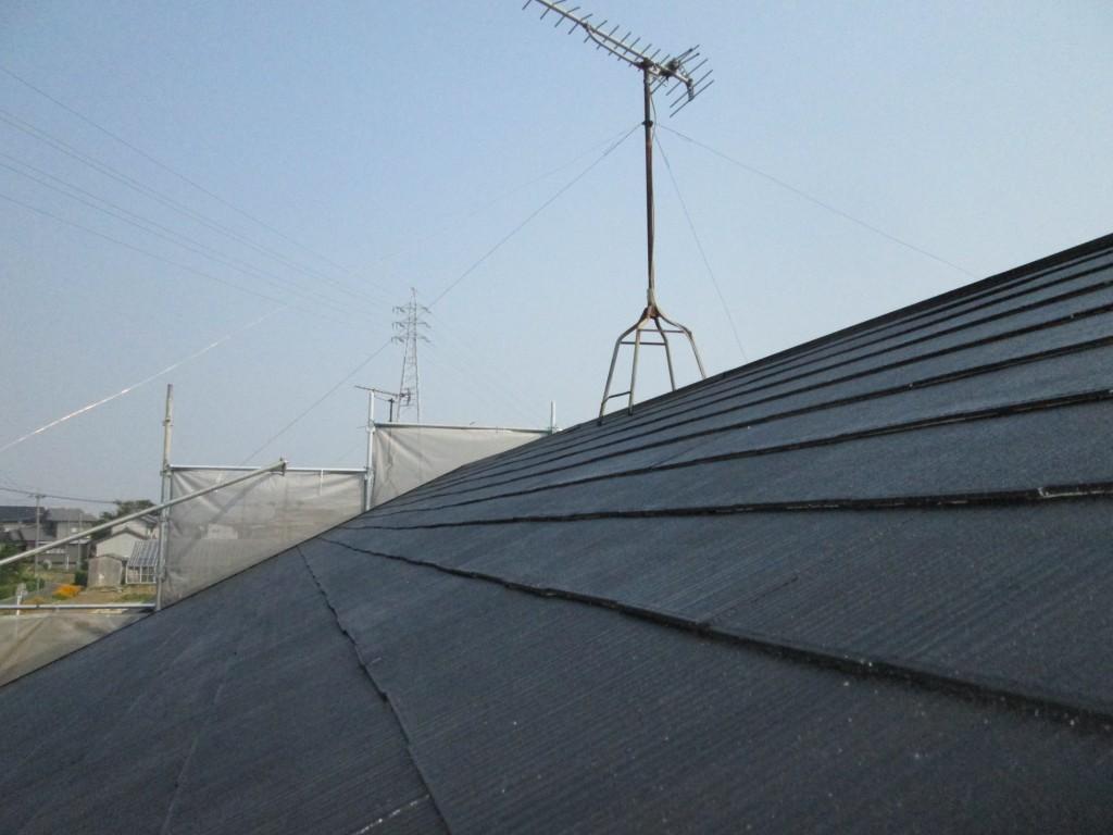 屋根と外壁の塗装をしました