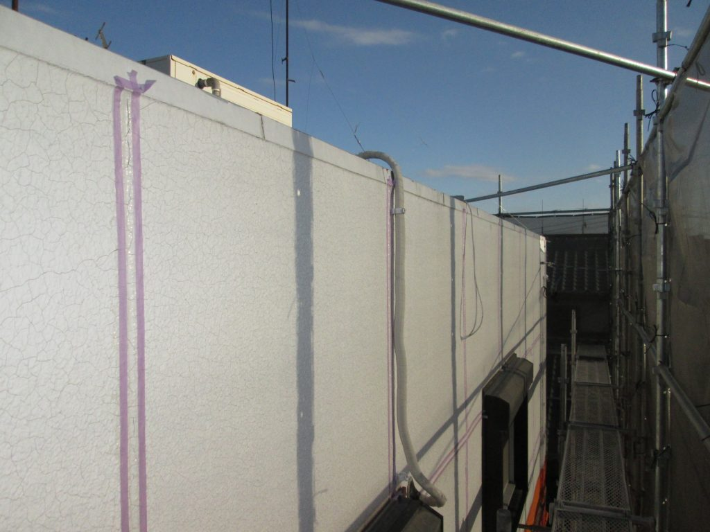 雨漏りを補修し外壁を塗り替えました