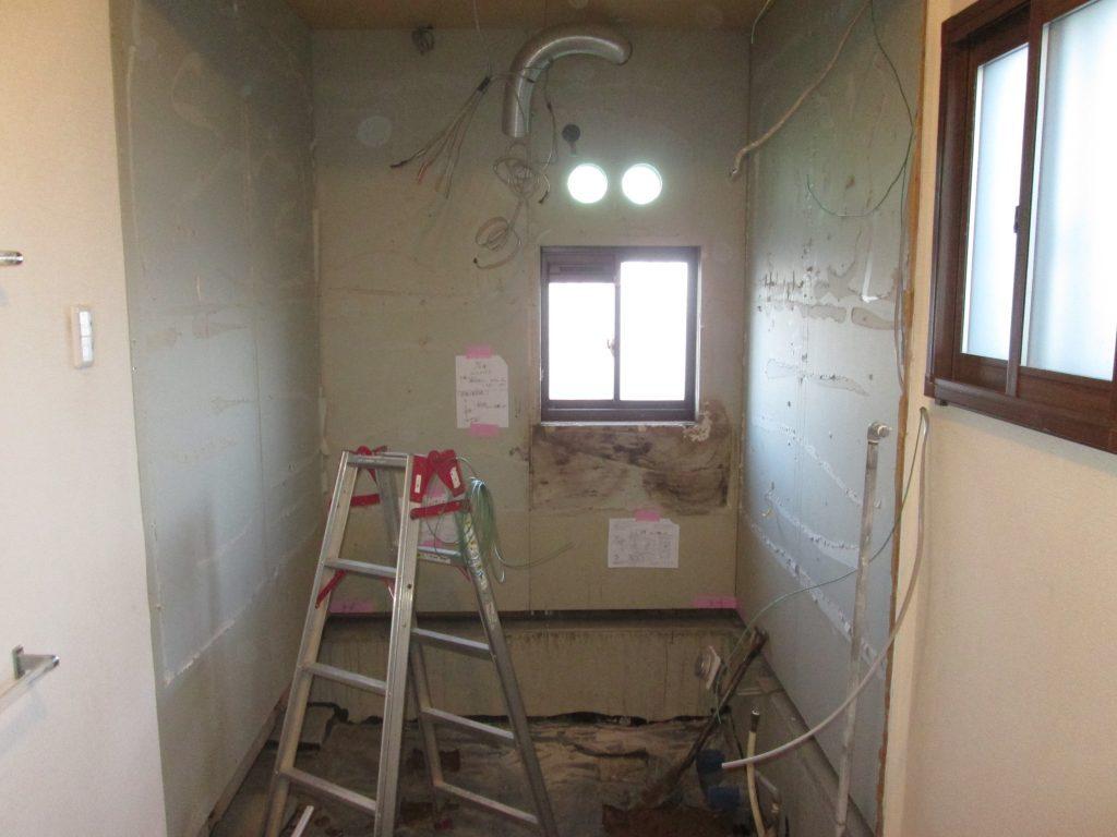 浴室と洗面所をリフォームしました