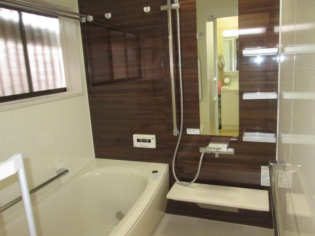 在来の浴室をユニットバスにリフォームしました