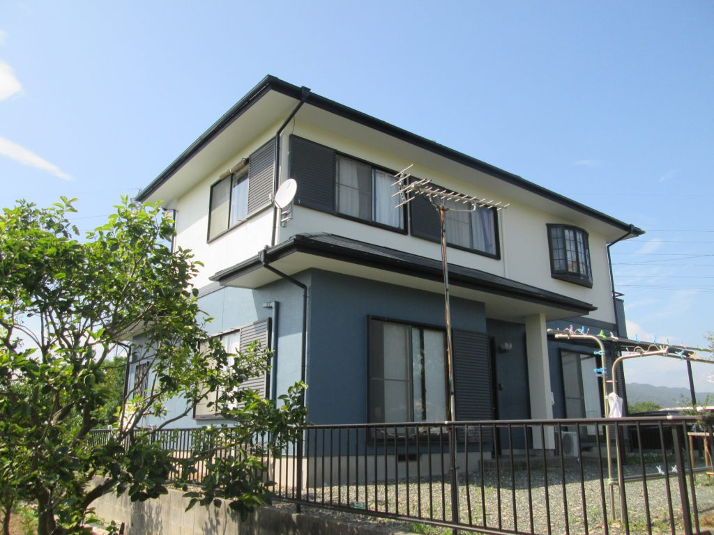外壁と屋根塗装、エクステリア工事