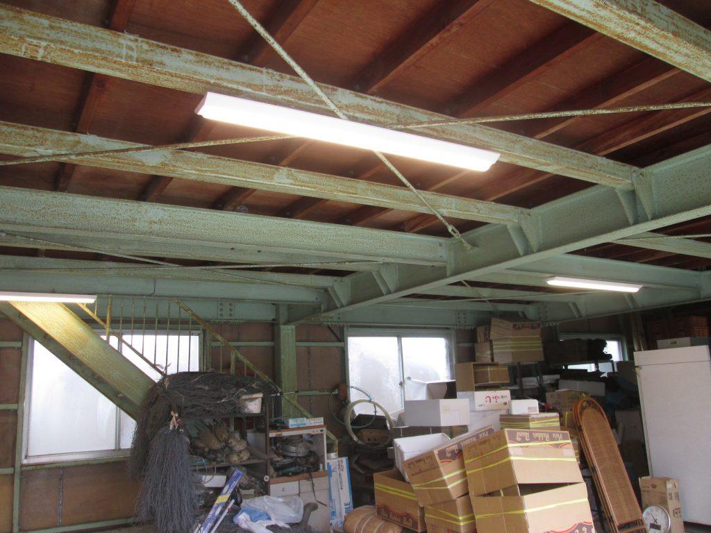 農業用倉庫をリフォームしました