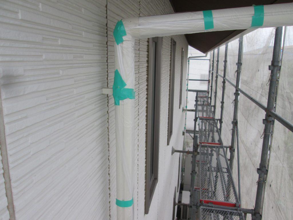 外壁の塗り替えをしました