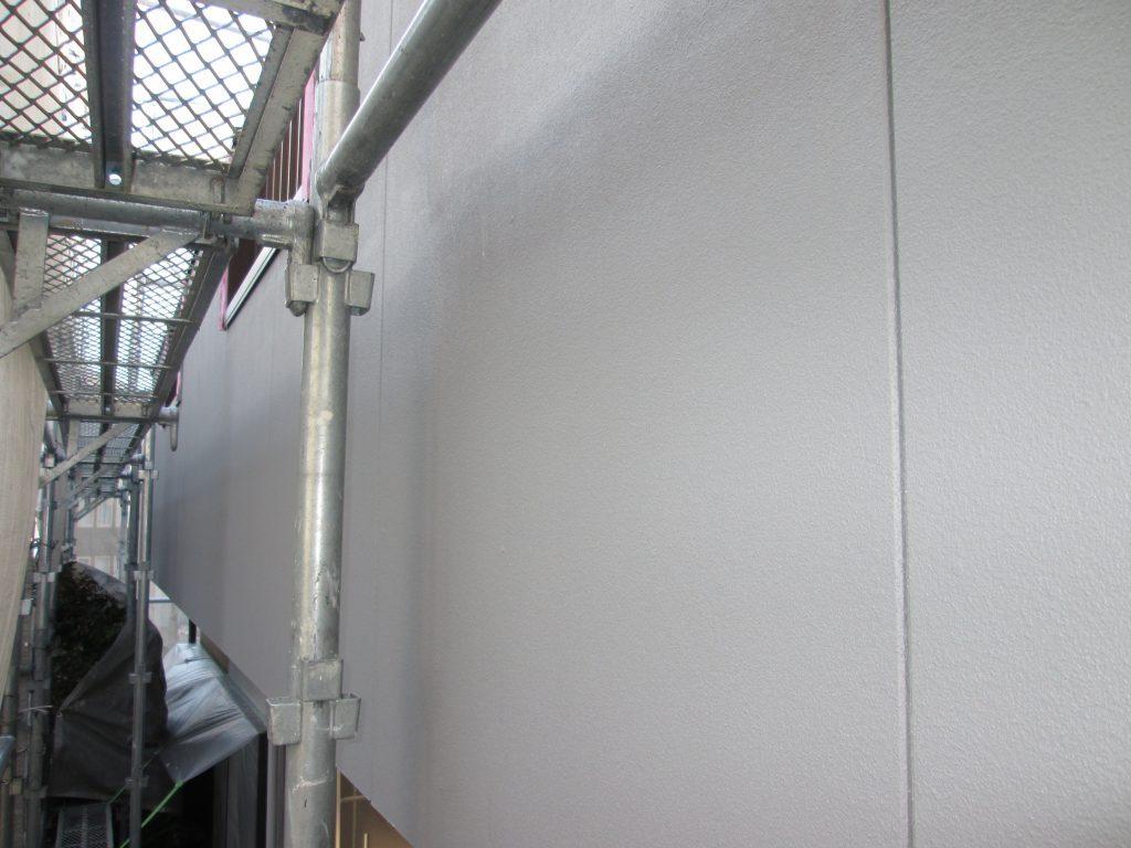 外壁塗装工事と洗面化粧台交換をしました