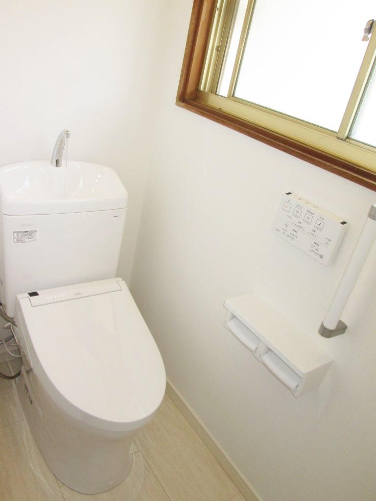 和式トイレを洋式トイレにリフォームしました