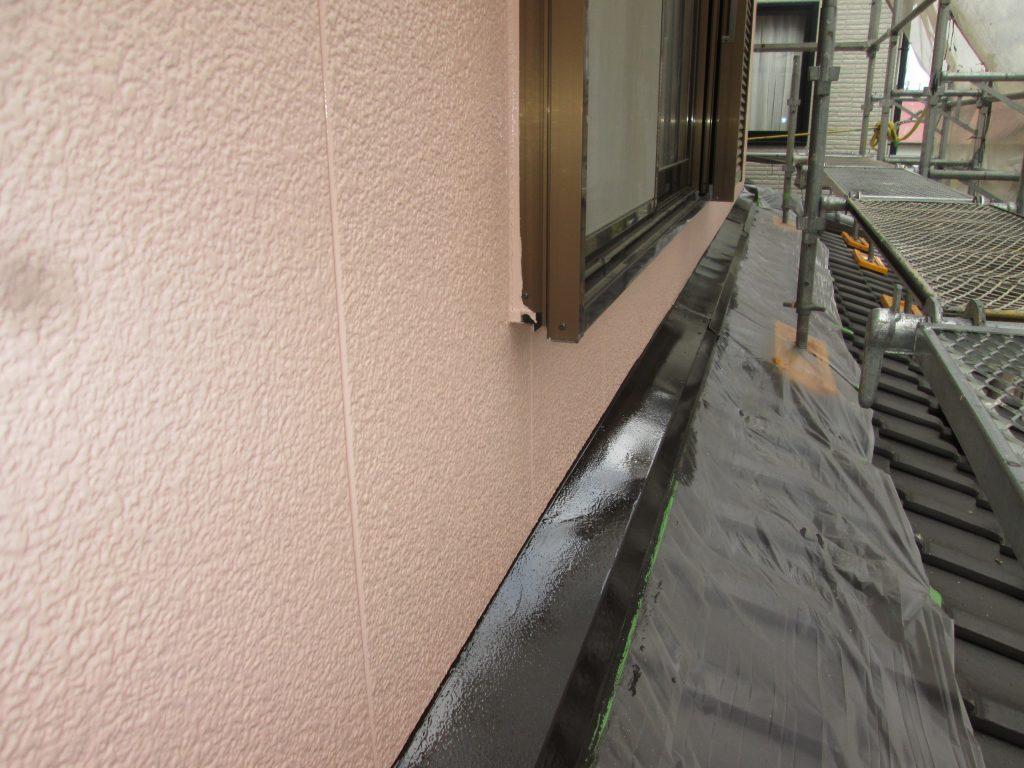外壁塗装で既設から色を変えました