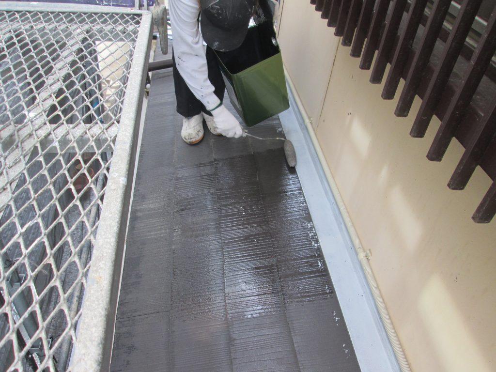 屋根・外壁の塗り替えとエコキュート取り換えをしました