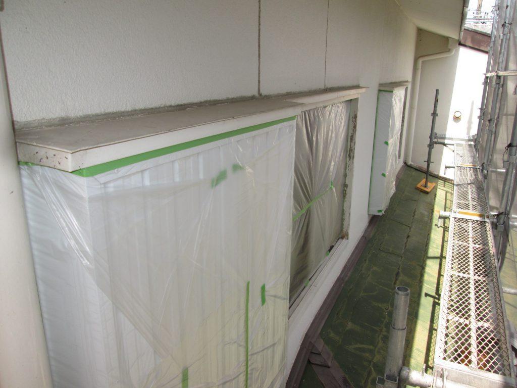 外壁塗装と板金工事をしました