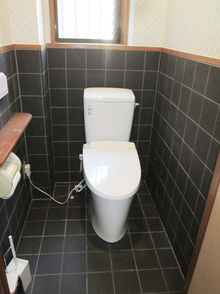 店舗トイレをリフォームしました