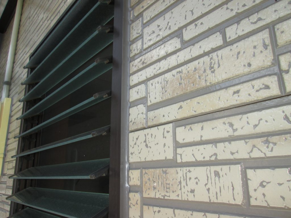 外壁塗り替えと内部のリフォームをしました